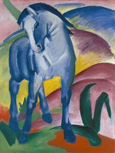 Blaues Pferd I., 1911 by Franz Marc