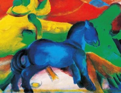 Blaues Pferdchen