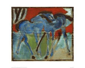 Blue Foal by Franz Marc