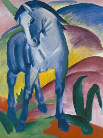 Blue Horse, 1911 by Franz Marc