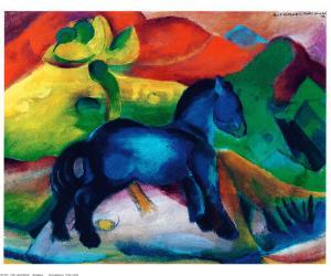 Blue Ponny by Franz Marc