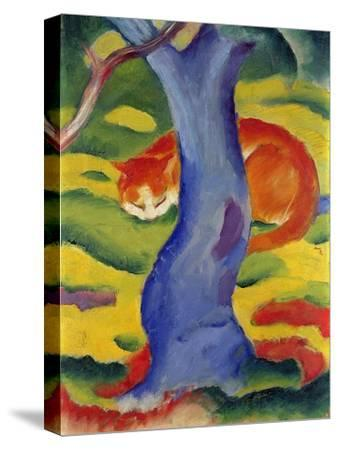 Cat Behind a Tree, 1910/11