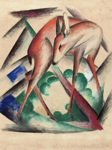 Deer, 1912 by Franz Marc
