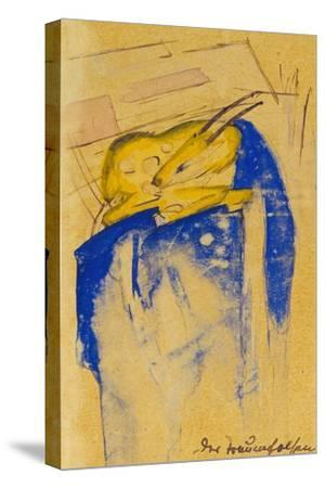 Der Traumfelsen, 1913. Auf Postkarte an Else Lasker-Schueler