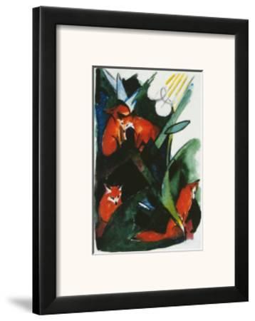 Four Foxes , Postcard to Kandinsky, c.1913