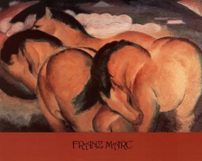 Franz Marc (Horses) Art Poster Print