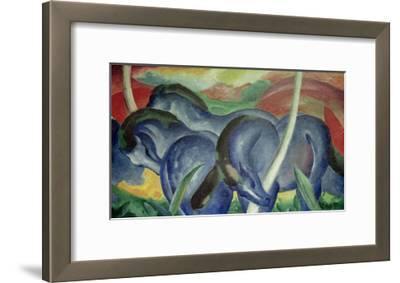 Large Blue Horses, 1911
