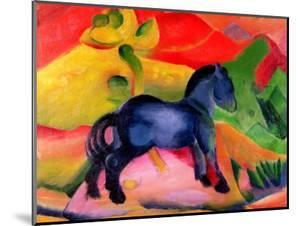 Little Blue Horse, 1912 by Franz Marc
