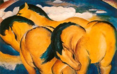 Little Yellow Horses, c.1912
