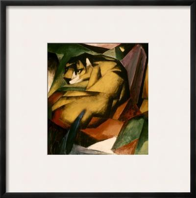 Marc: The Tiger, 1912