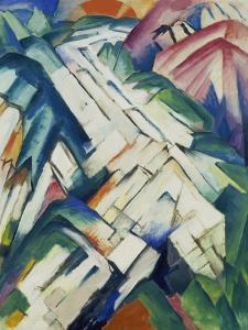 Mountains (Formerly Landscape), 1911/12 by Franz Marc