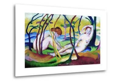 Nudes under Trees