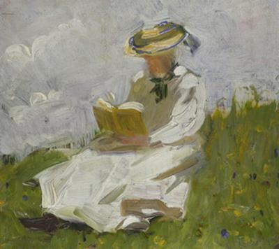 Reading Woman in the Countryside, 1906