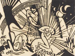 Reconciliation (Versoehnung), 1912 by Franz Marc