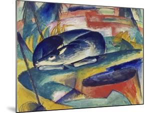 Sleeping Deer, 1912/13 by Franz Marc
