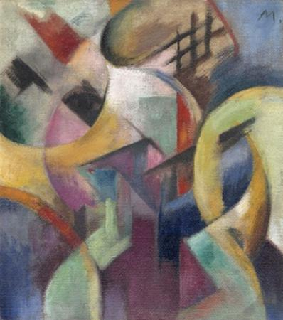 Small Composition I by Franz Marc