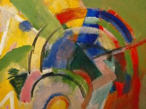 Small Composition Iv, 1914 by Franz Marc