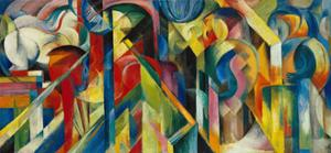 Stables, 1913 by Franz Marc