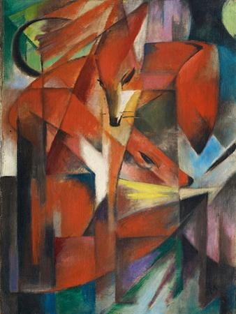 The Fox by Franz Marc