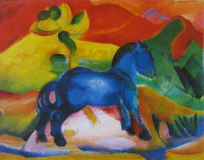 The Little Blue Horse, 1912