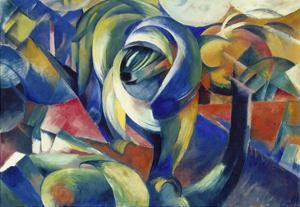 The Mandrill, 1913 by Franz Marc