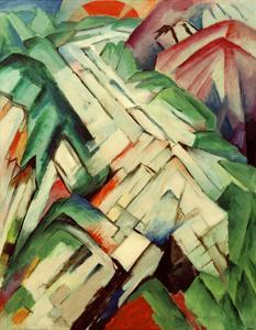 The Stony Path by Franz Marc