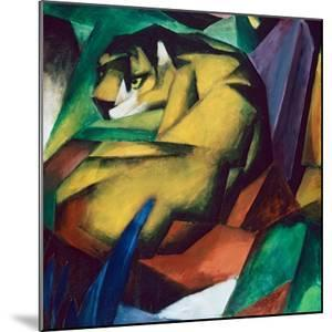 The Tiger, 1912 by Franz Marc