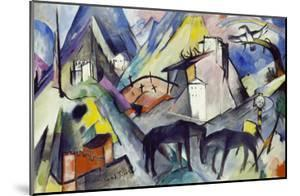 The Unfortunate Land of Tyrol, 1913 by Franz Marc