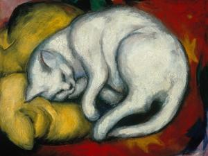 The White Cat, 1912 by Franz Marc