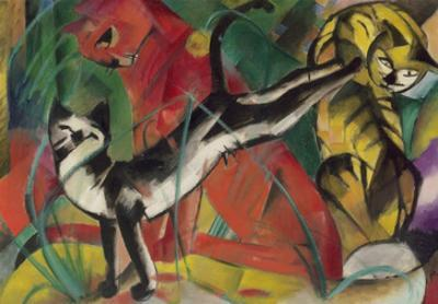 Three Cats, 1913