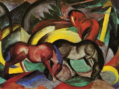 Three Horses, 1912
