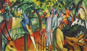 Zoological Garden I by Franz Marc
