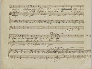 Nach einem Gewitter, Mayrhoffer, May 1817 by Franz Peter Schubert