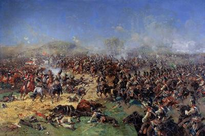 The Battle of Borodino on August 26, 1812. Third French Attack, 1913