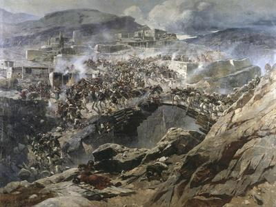 The Siege of Akhoulgo, 1888