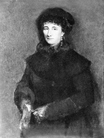 Cosima Wagner - portrait