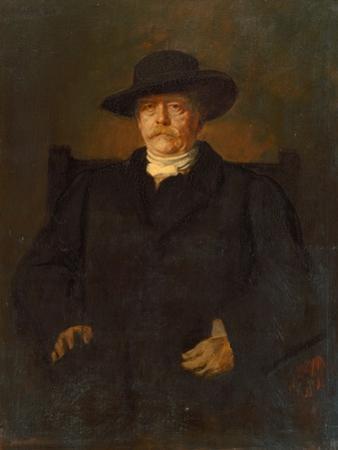 Portrait of Otto Von Bismarck in Civilian Dress, 1884 by Franz Seraph von Lenbach