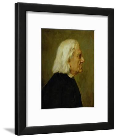 The Composer Franz Liszt (1811-86), 1884
