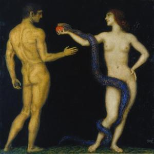 Adam und Eva by Franz von Stuck