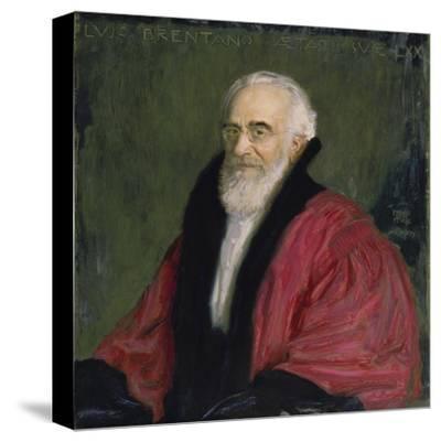 Bildnis Lujo Brentano. 1915