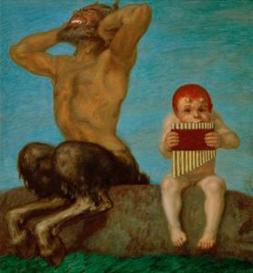 Dissonance, 1910 by Franz von Stuck