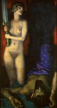 Judith and Holofernes, 1926