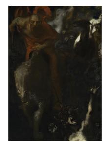 la chasse sauvage by Franz von Stuck