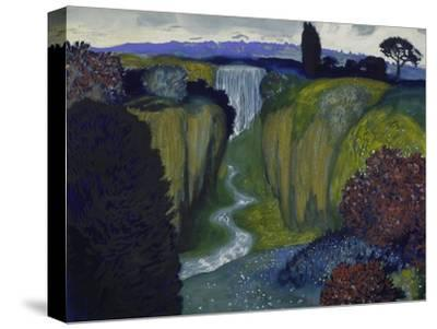 Landscape with Waterfall. 1896