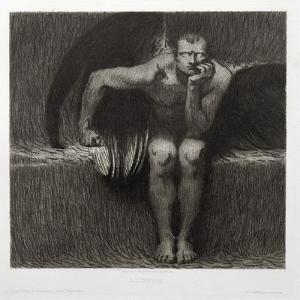 Lucifer, 1892 by Franz von Stuck