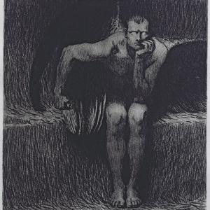 Lucifer by Franz von Stuck