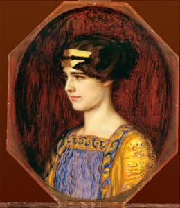 Mary in Greek Dress by Franz von Stuck