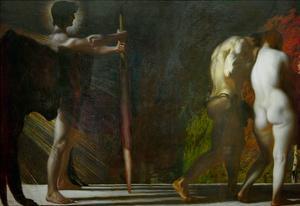 Paradise Lost, 1897 by Franz von Stuck