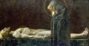 Pieta by Franz von Stuck