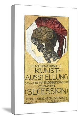 Plakat to the First International Exhibition of Art, Secession, 1893